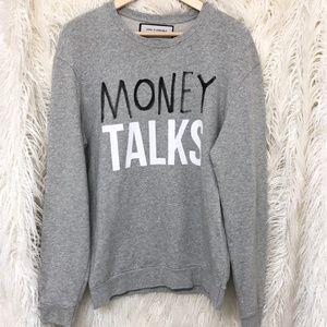 Zara Grey Money Talks Men's Sweater